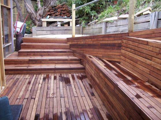 Elevated Decking Ideas by Peter Wheal Landscapes