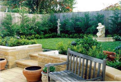 Retaining Wall Design Ideas by Penshurst Nursery & Landscape