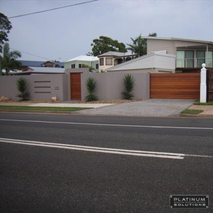 Fence Designs by Platinum Bricklaying Blocklaying & Concrete Solutions