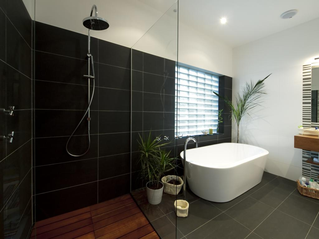 How much does a frameless glass shower screen cost Modern australian bathroom design
