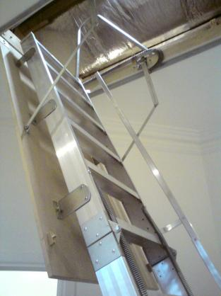 Attic Ladder Ideas by Rods 'N' Rails Pty Ltd