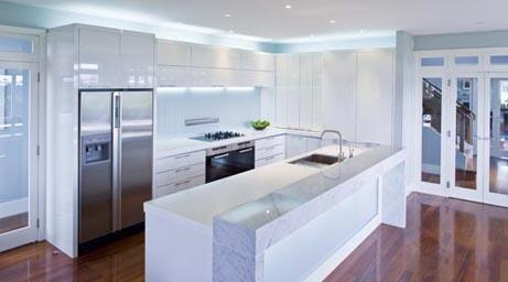 kitchen design ideas by decoglaze hunter pty ltd - Kitchen Renovation Designs