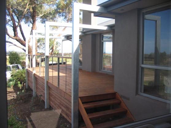Elevated Decking Ideas by Gregory Builders