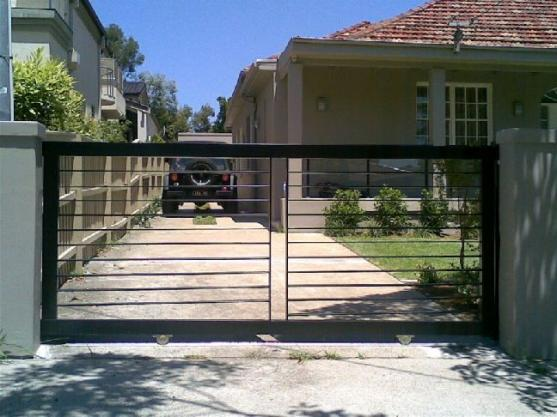 Driveway Gate Design Ideas - Get Inspired by photos of Driveway ...