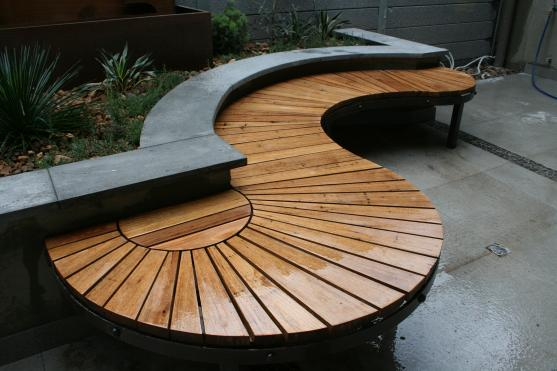 Outdoor Furniture By Paal Grant Designs In Landscaping