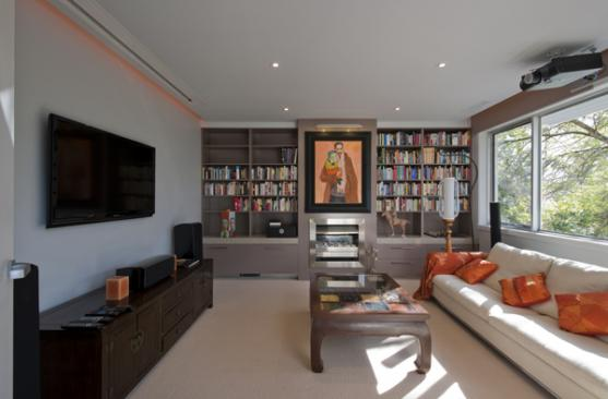 Living Room Ideas by Bijl Architecture