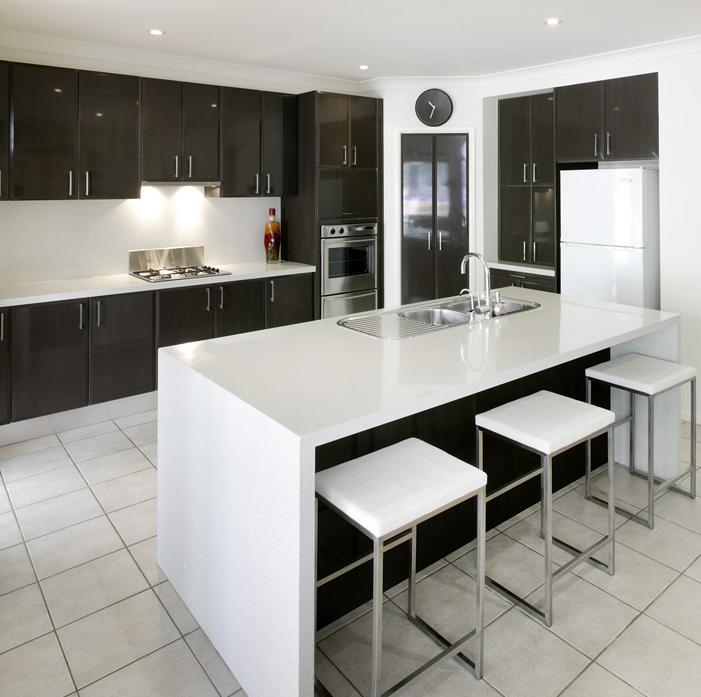 Kitchens inspiration bolgers granite transformations for Kitchen ideas brisbane