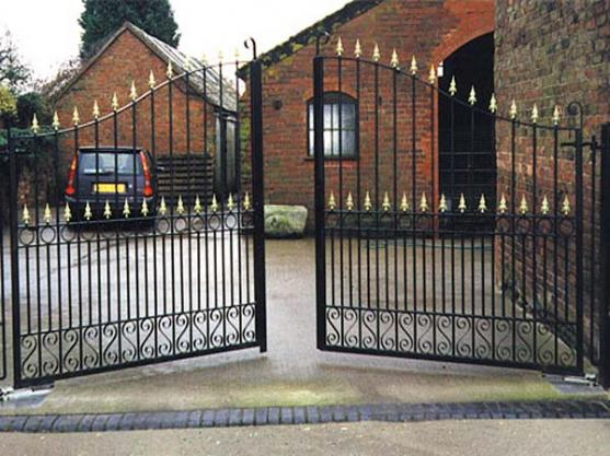 Wrought Iron Gates by Auto Gates and Fencing