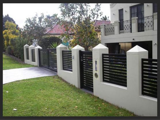Go Back Gallery For House Gates And Fences Designs