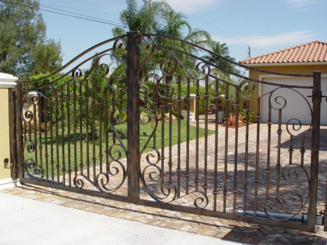 Installing Wrought Iron Gates Hipagescomau