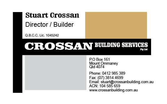 Crossan Building Services Pty Ltd Brisbane Ipswich
