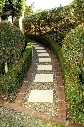 Garden Path Design Ideas by Tom Robinson Living Landscapes
