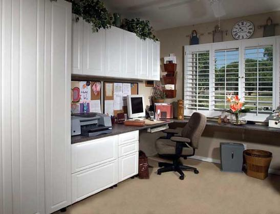 Home Office Ideas by Classic Cabinetry