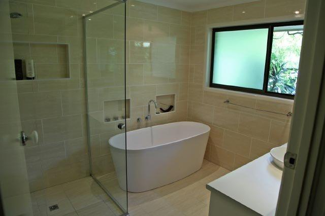 should you go combined bath and shower or separate? - hipages.au