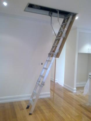 Attic Ladder Ideas by Accessible Attic Ladders