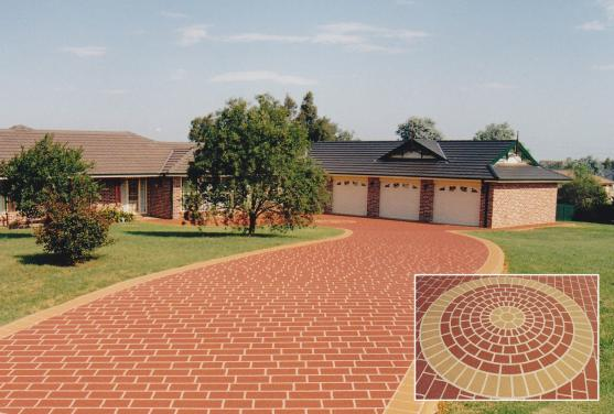 Paving Ideas by Hi-Tech Stencilcrete