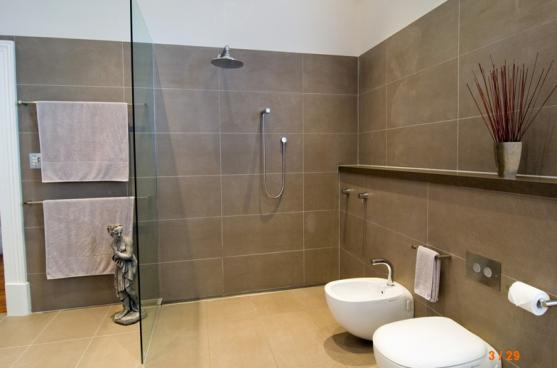 Frameless Shower Screen Designs by Bathrooms & Kitchens by Urban