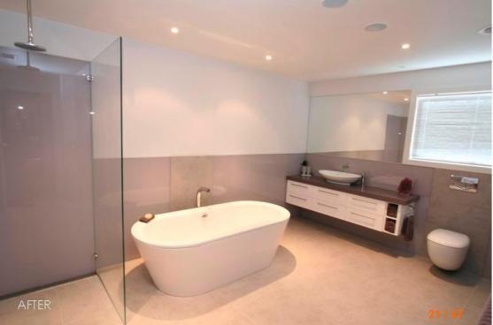 Popular Bathroom Tile Halfway Up Wall  Bathroom Furniture Ideas
