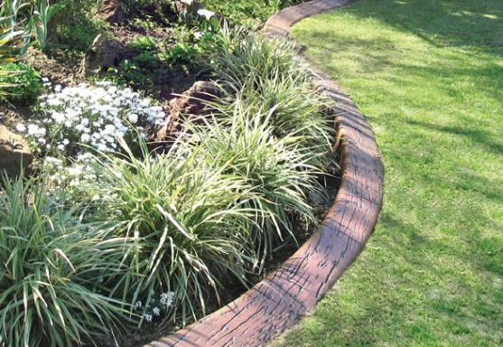 Garden edging design ideas get inspired by photos of for Quik curb