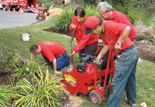 Landscape Garden Training : Creative kwik kerb landscaping ashwood victoria steve