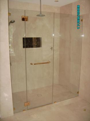 Frameless Shower Screen Designs by All Coast Glass & Mirror