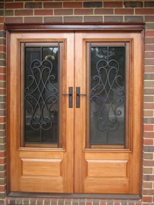 Door Designs by Budget Wrought Iron Pty Ltd