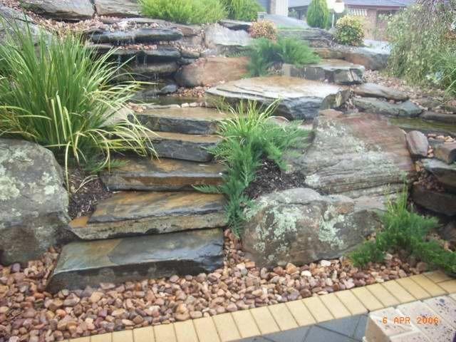 Water features inspiration ss garden construction for Garden feature ideas