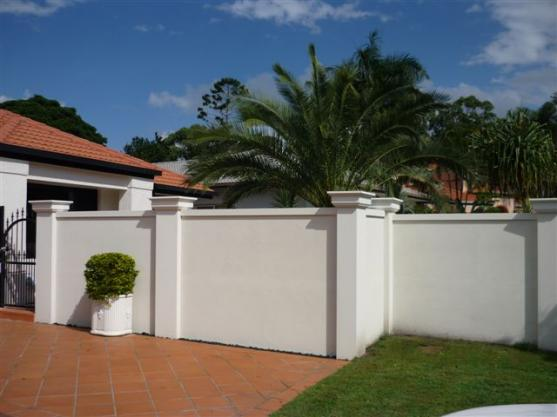 fence designs by modular wall systems - Fence Design Ideas
