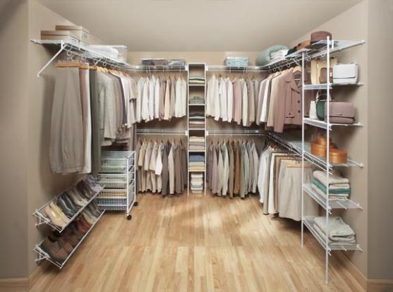 Walk In Wardrobe Design Ideas by MILLENNIUM SHELVING PTY LTD