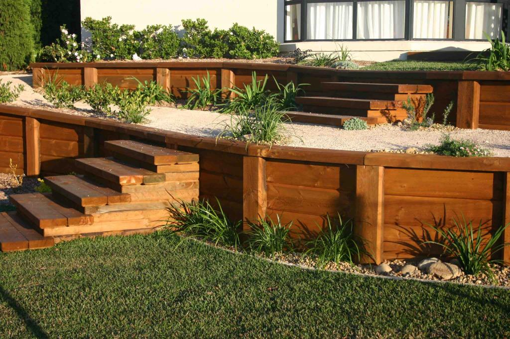 retaining wall design ideas retaining walls retaining walls garden effects australia hipagescomau - Retaining Wall Design Ideas