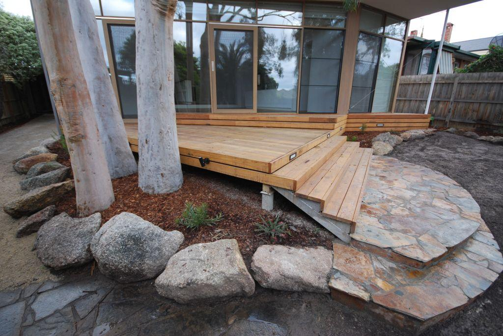 Elevated Decking Ideas by Supreme Green Landscaping
