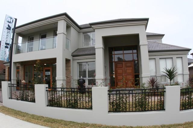 Riveroak homeworld display house galleries b j d for Design house architecture ltd