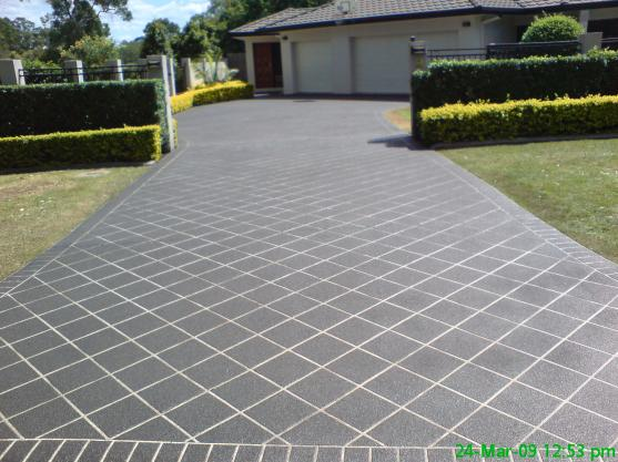 driveway designs by captivating concrete solutions - Concrete Driveway Design Ideas