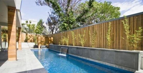Swimming Pool Designs by Contemporary Landscaping