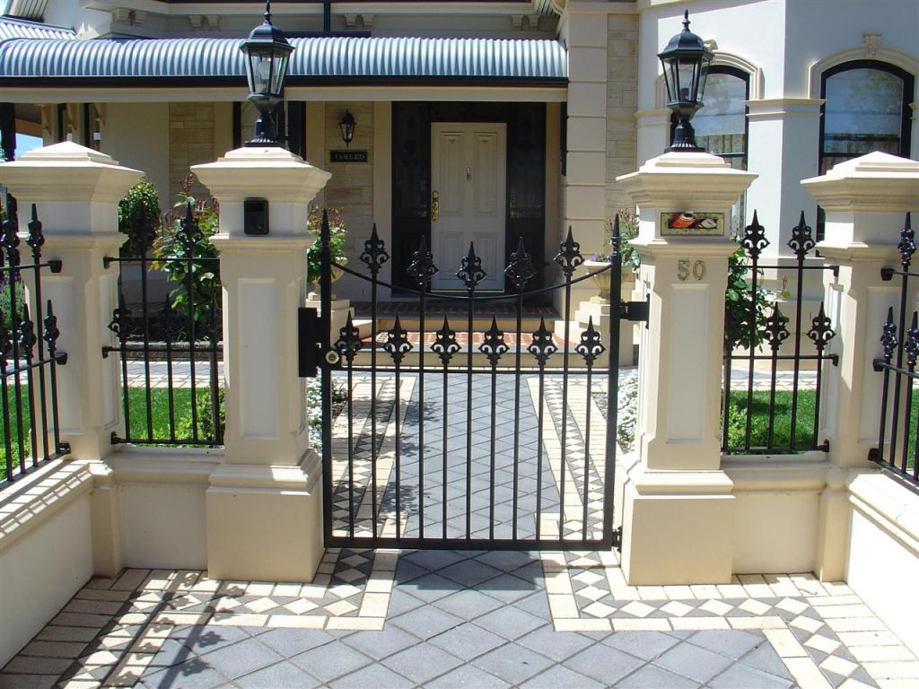 Entrance Designs by Hindmarsh Fencing & Wrought Iron Security Doors