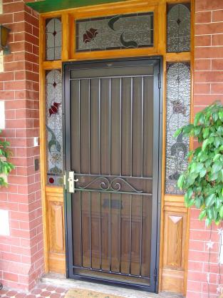 Front Door Designs by Hindmarsh Fencing & Wrought Iron Security Doors