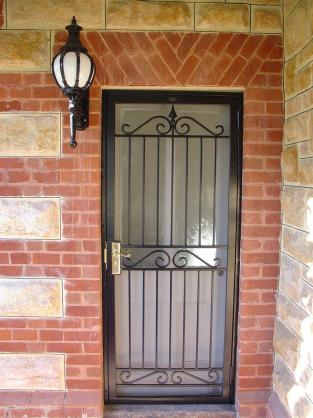 Door Designs by Hindmarsh Fencing & Wrought Iron Security Doors