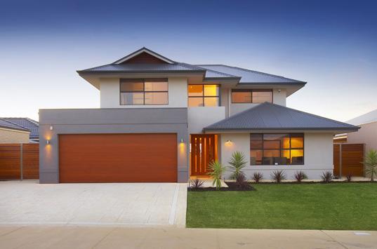 Front house exteriors double storey house designs building quote headquarters australia Australian home design ideas
