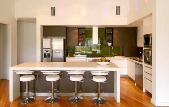 kitchen design ideas get inspired by photos of kitchens from australian designers trade. Black Bedroom Furniture Sets. Home Design Ideas