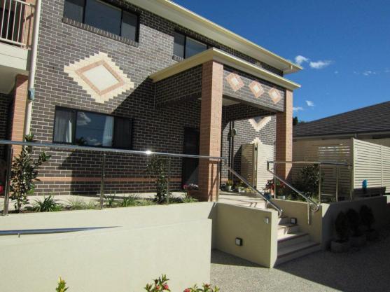 Entrance Designs by Architects Black & Wilson Pty Ltd