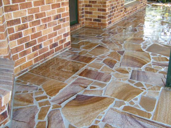 From Australian sandstone through to clay pavers...great look and structurally sound