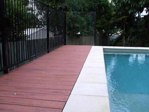 Pool Decking Design Ideas by Landcon. Landscape and Concrete Construction
