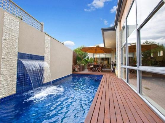 Pool Decking Design Ideas by Milne Builders and Plumbers