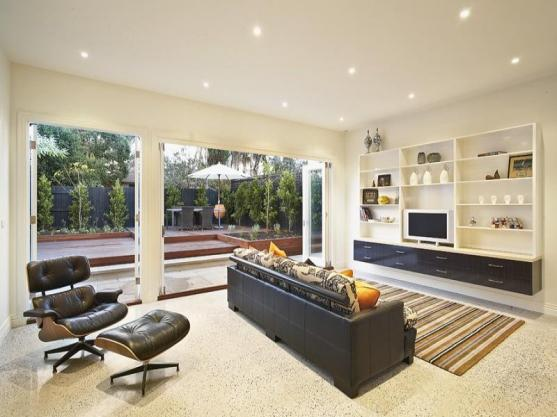 living room ideas by milne builders and plumbers - Lounge Room Design Ideas