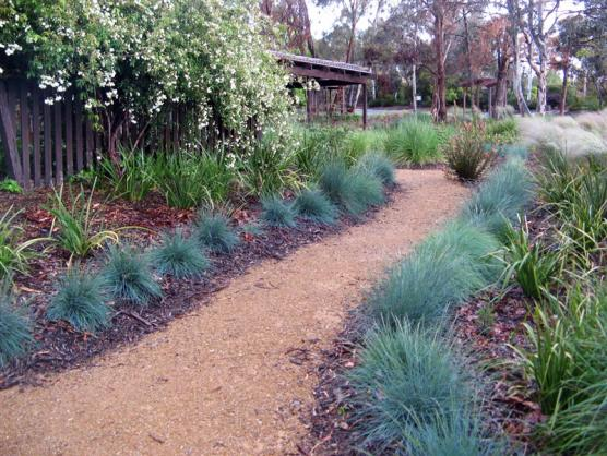 Garden path design ideas get inspired by photos of for Native garden designs