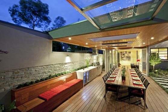 Outdoor Entertaining Area Australian Bar