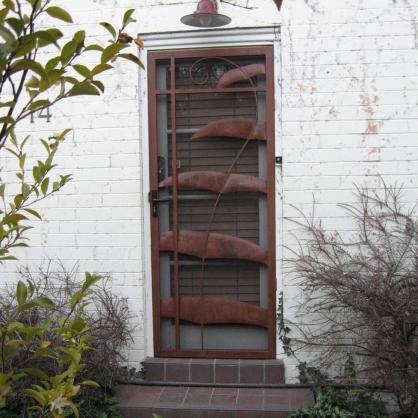 Security Door Designs  by Overwrought Garden Art