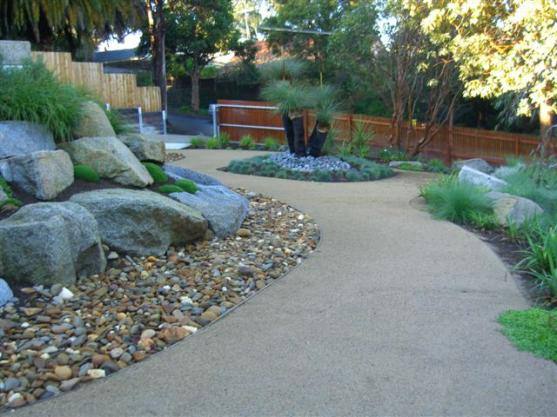 Get inspired by photos of gardens from australian for Cycas landscape design