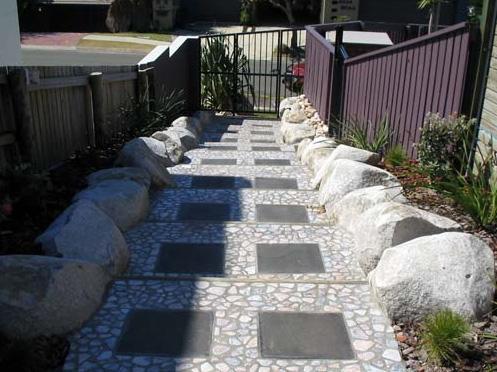 Paving Ideas by Landcon. Landscape and Concrete Construction