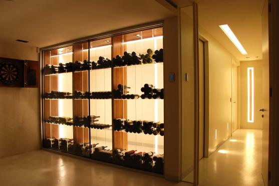 Wine Rack Ideas by AMG Architects
